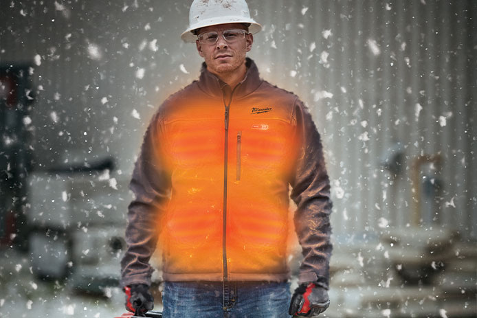 Five Tips to Stay Warm on the Job Site